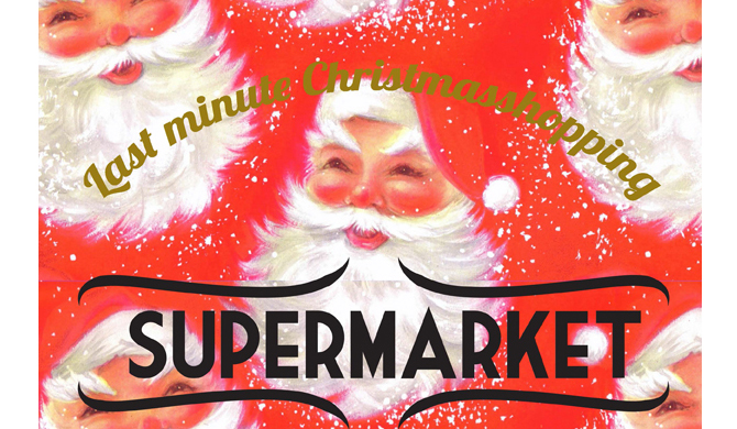 18.12.2016: Last minute Christmasshopping - Supermarket Maastricht, Copyright Supermarket Maastricht